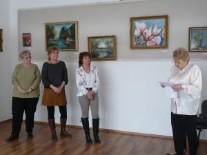 Tímár Ibolya festménykiállítása 2018. február 2-17.